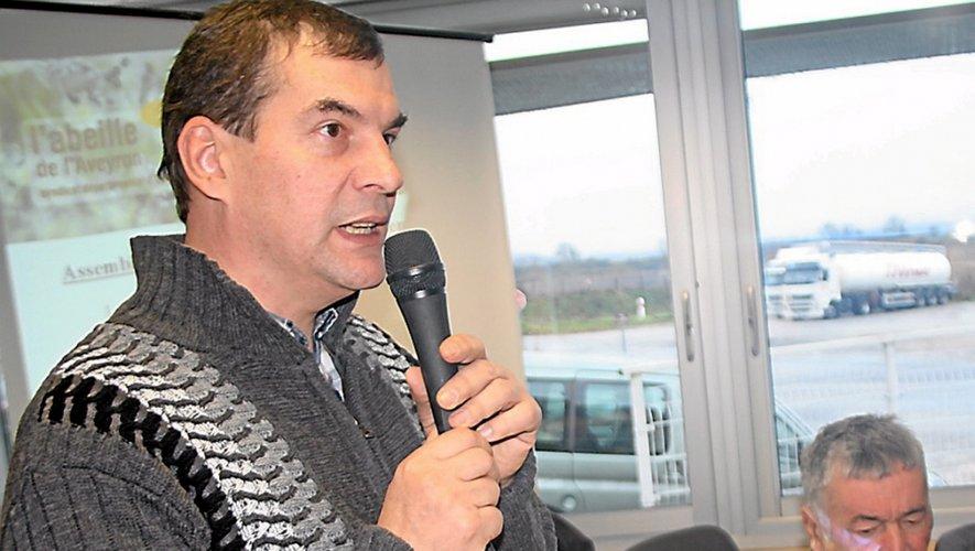 Le président du syndicat Jérôme de Lescure
