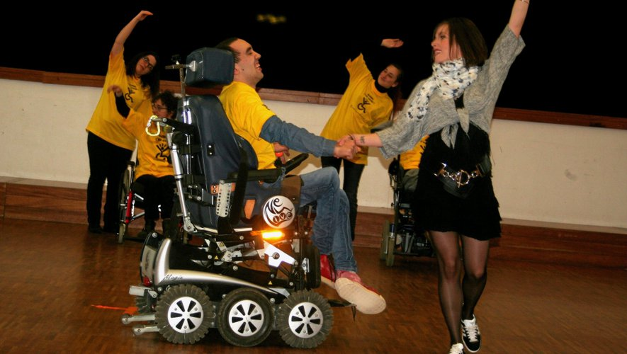 Luc : le handicap n'empêche pas d'entrer dans la danse