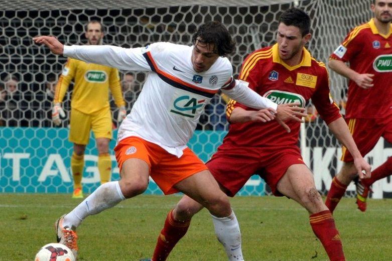 Coupe de France : Rodez-Montpellier en images