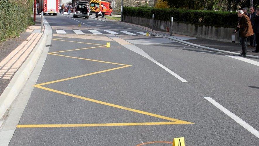 Le corps du policier a été projeté à plusieurs dizaines de mètres.