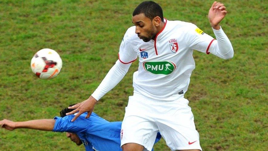 Pour sa troisième saison à Lille, Ronny Rodelin a inscrit son troisième but de la saison à Amiens en Coupe de France dimanche.