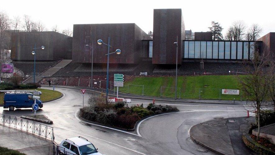 Le chantier du musée Soulages devrait être terminé fin janvier.