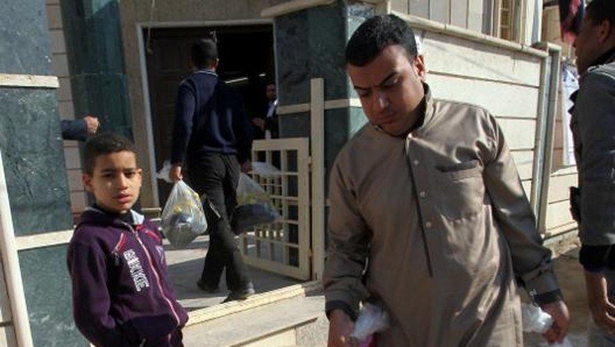 Irak: les habitants de Fallouja reviennent peu à peu dans la ville