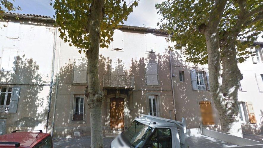 L'incendie s'est déclaré au n°27 de l'avenue Gambetta à Millau.
