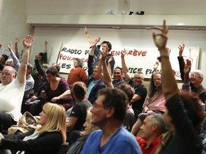 Radio France: grève reconduite, mais l'unité syndicale vole en éclats