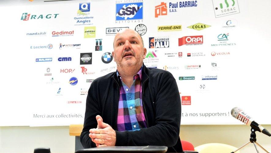 Jean-Paul Barriac, le président du Stade Rodez Aveyron, prie pour être entendu au plus vite. En effet, la campagne de dons a dû être largement accélérée sous peine de possiblement «mettre la clé sous la porte» dès le 16mars prochain !