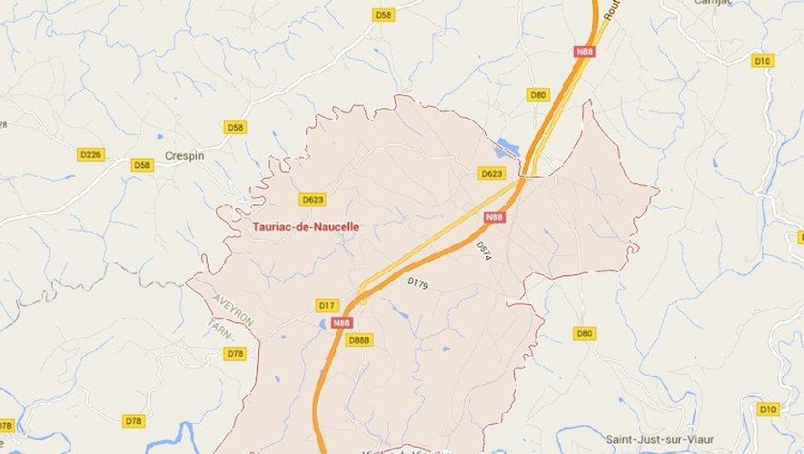 Tauriac-de-Naucelle : accidents en série sur la RN88