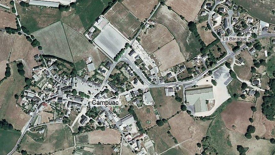 C'est à Campuac que les spécialistes ont situé l'épicentre du séisme.
