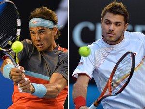Open d'Australie: finale Nadal-Wawrinka