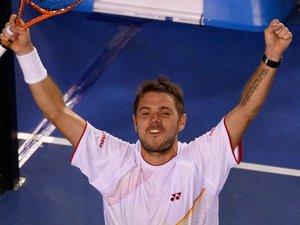Open d'Australie: Wawrinka sacré face à un Nadal blessé