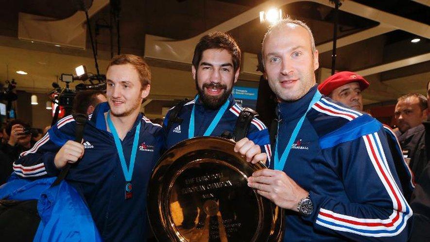 Hand: les champions d'Europe accueillis en héros