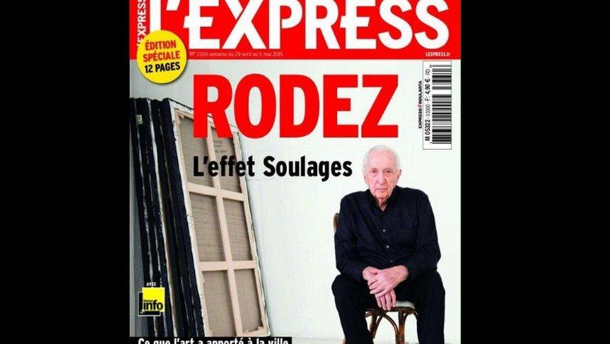 """Rodez et le musée Soulages à la """"une"""" de l'Express"""