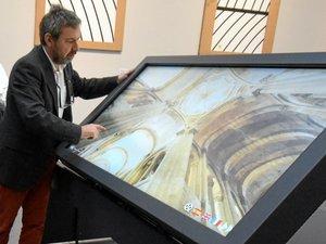 Le musée Soulages propose la visite virtuelle de l'abbatiale Conques