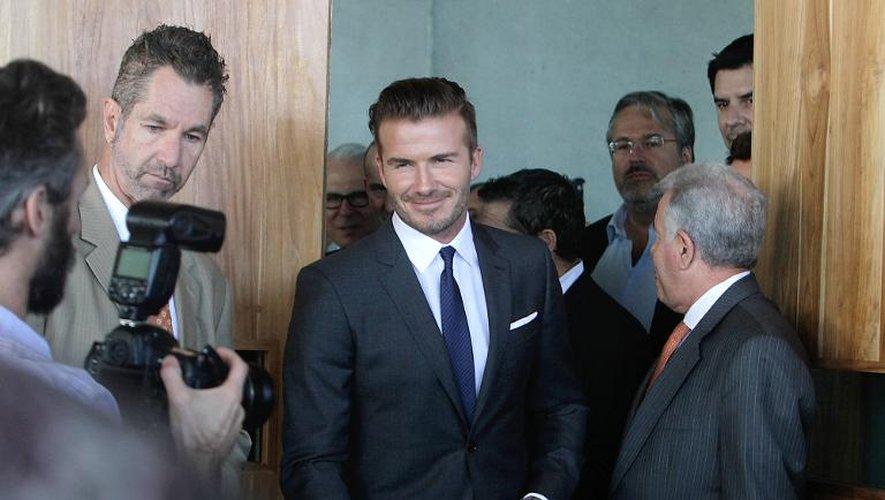 David Beckham, futur président de club de football à Miami