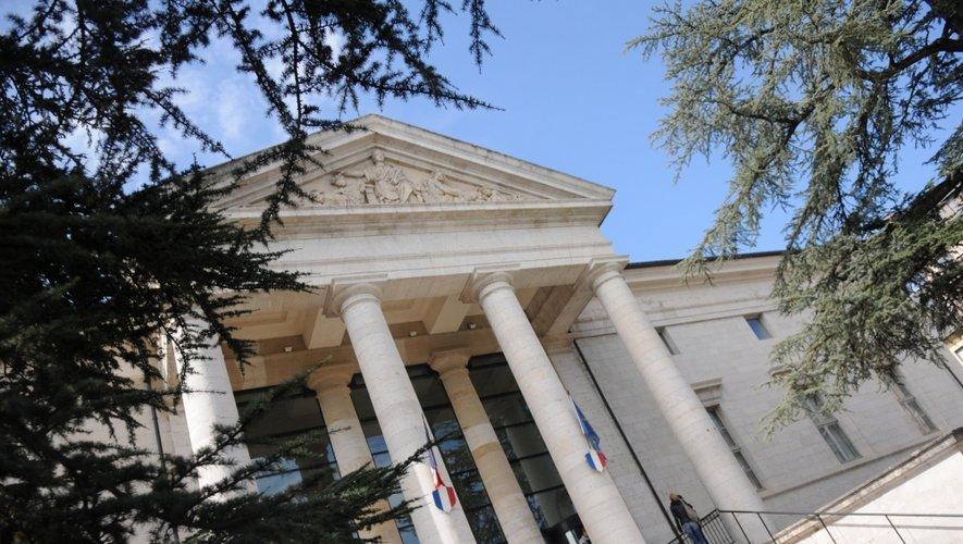 Il y avait une audience correctionnelle, hier, au tribunal de Rodez.