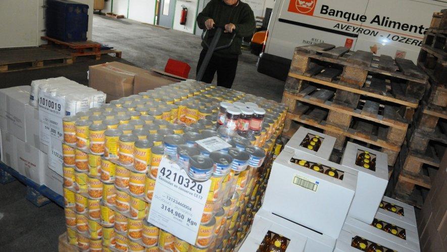En 2014, la Banque alimentaire a distribué plus de 570 000 repas en Aveyron