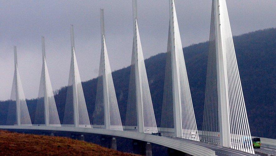 Le viaduc de Millau, désormais représenté sur les mers.