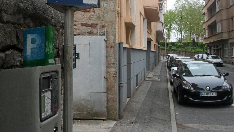 Stationnement gratuit à Rodez.
