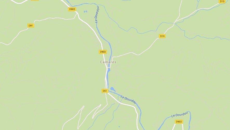 Camarès : un motard trouve la mort
