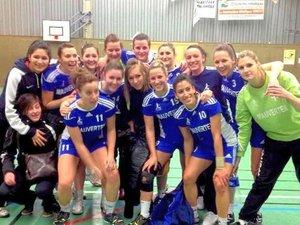 Handball: les filles du Roc aux portes de la Nationale 3