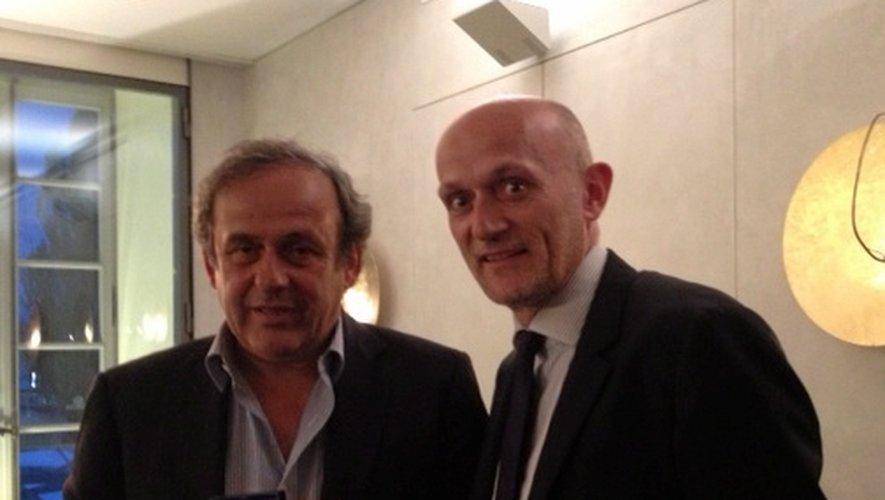 Stéphane Mazars a auditionné Michel Platini la semaine dernière à Nyon, en Suisse.