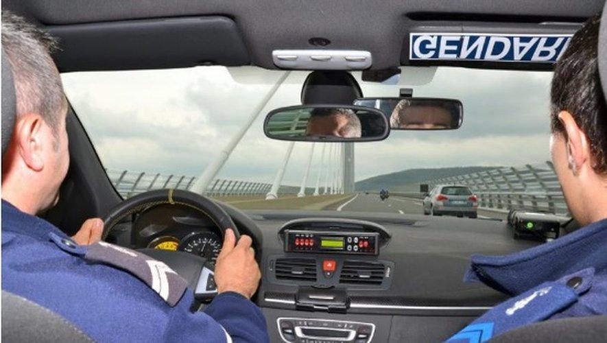 Le jeune homme a été intercepté par l'équipe rapide d'intervention du peloton d'autoroute de Millau.