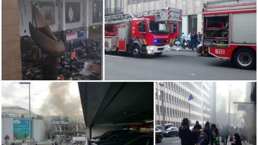 Attentats à Bruxelles : Au moins 34 morts et environ 200 blessés