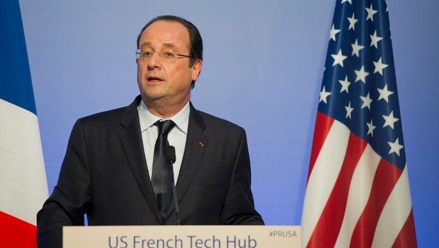 Hollande visite les start-up françaises de la Silicon Valley