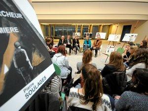 Les élèves de Foch croquent la vie et l'oeuvre de Pierre Soulages en BD