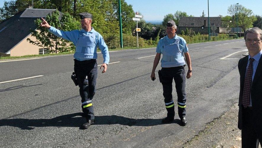 Quelques jours après avoir accompagné les policiers, c'est aux côtés des gendarmes que Jean-Luc Combe, préfet de l'Aveyron a assisté à un contrôle de vitesse.