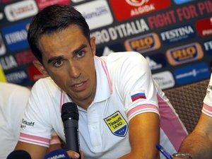 """Tour d'Italie: Contador s'attaque au """"rose"""""""