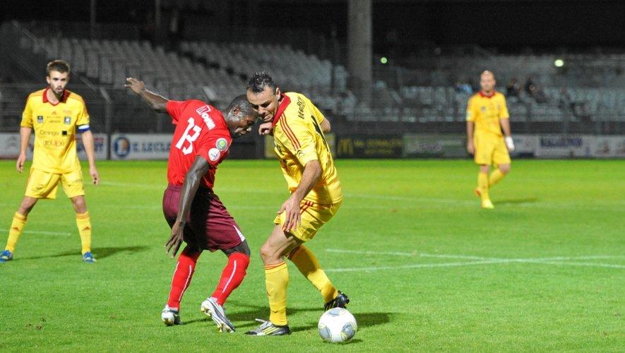 Les Ruthénois jouent à 17 heures. Le match aller contre Béziers s'est soldé par un 3-3 spectaculaire.