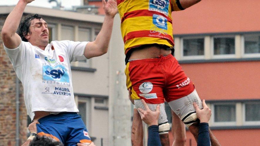 Rugby: mission maintien pour Rodez et Decazeville cet après-midi