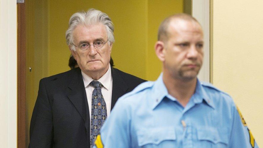 Bosnie: jugé pour génocide, Karadzic attend le verdict du TPIY