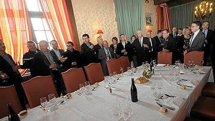 Directeur général de « Centre Presse », Joël Perreau a donné le coup d'envoi de l'édition 2014 de la FoirExpo de Rodez  fixée du 8 au 12mai.