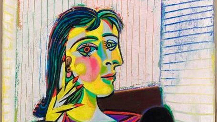 Le portrait de Dora Mar, l'une des plus célèbres oeuvres de Picasso, sera au musée Soulages cet été.