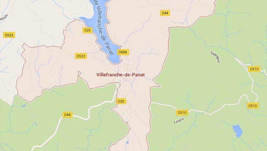 L'accident s'est produit au sud de la commune de Villefranche-de-Panat.