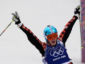 JO/Skicross: La Canadienne Thompson en or, Ophélie David 4e à Sotchi