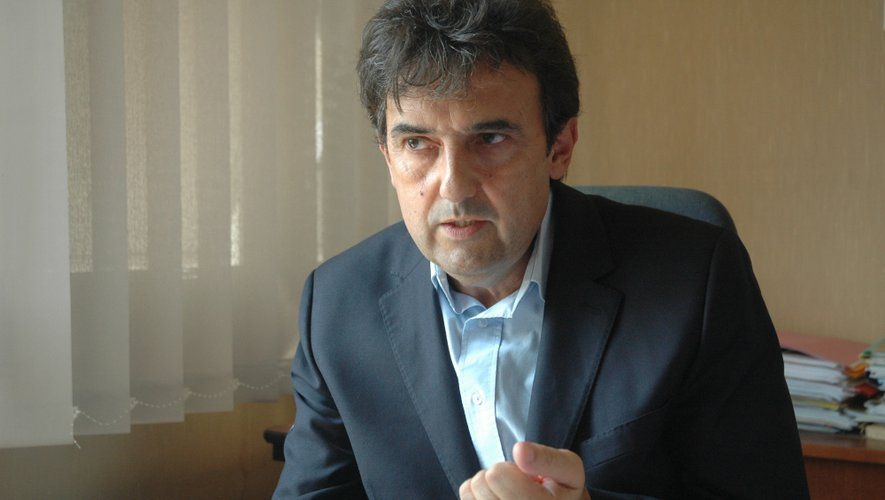 Claude Bauquis, directeur de l'enseignement diocésain pour l'Aveyron et le Lot.