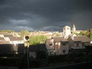 Flavin aussi a son ciel d'orage...