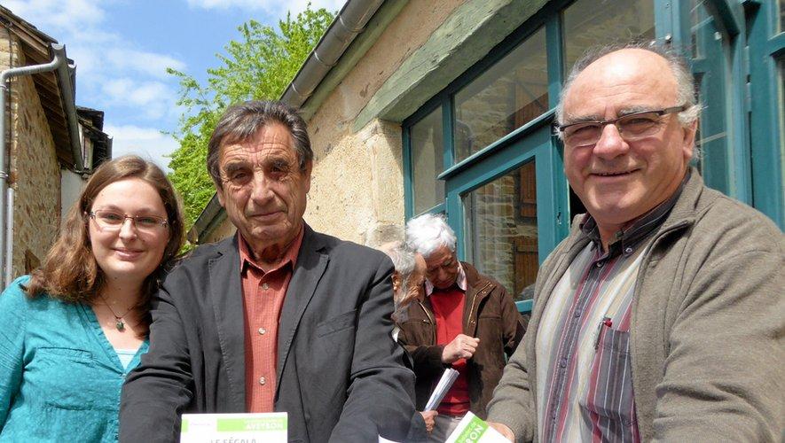 Lucie Morin, Jean-Marie Malgouyres et Claude Bou sont les chevilles ouvrières.