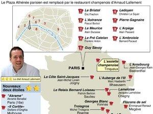 """Le Michelin sacre un nouveau """"trois étoiles"""": Arnaud Lallement, près de Reims"""