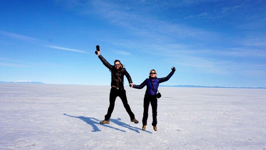 Ici sur le lac Baïkal, en partie glacé en cette période de l'année.