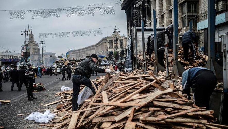 L'Ukraine dans l'attente d'un gouvernement de transition