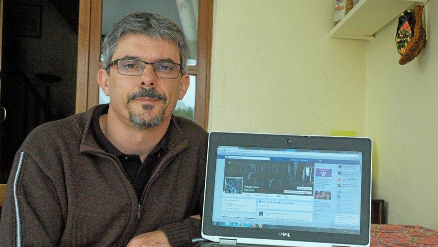Lucien Pena, ambassadeur numérique de Rieupeyroux
