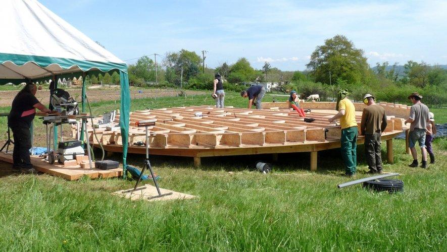 Le «Jardin des Colibris» : engouement autour du chantier participatif