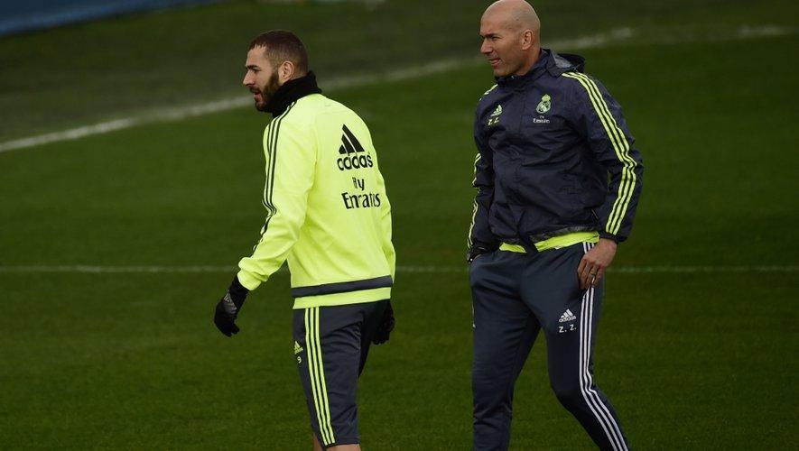 Zidane envoie Benzema se mettre au vert à Rodez !