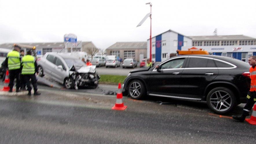 RN88 - Accident à Baraqueville : 3 kilomètres de bouchons, circulation alternée