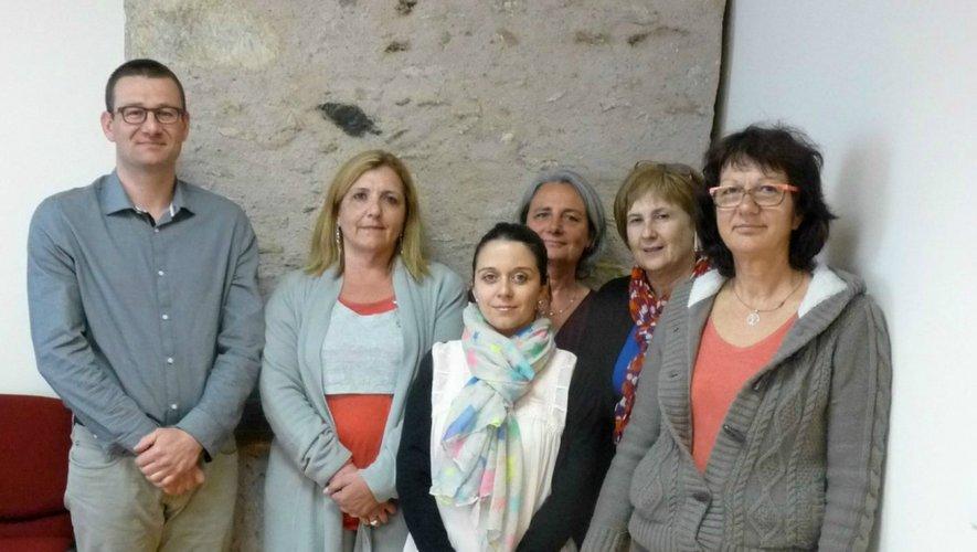 À Rieupeyroux, l'ESA est gérée part l'association SSIAD-ADMR (Services de soins infirmiers à domicile), présidée par le pharmacien Jonathan Rey (à gauche sur la photo).