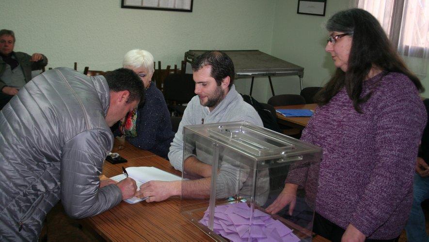 La majorité des 200 Escandolièrois inscrits sur les listes électorales se sont déplacés pour voter.